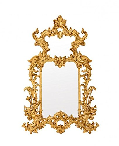 Casa-Padrino-Luxury-Designer-Wall-Mirror-Gold-Leaf-124-x-H-190-cm-Precious-Ornate