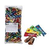 Frey 1,5kg Branches Mini Schokolade Mischbeutel - Snacks Mini Schokoriegel mit Haselnusscreme-Füllung - Schweizer Schokolade - Großpackung 1x 1500 g - UTZ Zertifiziert