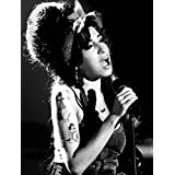 "Amy Winehouse Póster de tela 20""x13"""