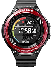 Casio Pro Trek Smart Watch Digital Smartwatch Unisex with Resin Strap WSD-F21HR-RDBGE