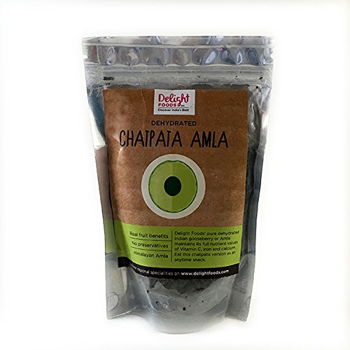 Delight Foods Dehydrated Amla Chatpata (100 Gm)