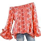 YOUBan Damen Bluse Frauen Stehen Kragen Wave Point Printing Hoodie Lange Ärmel Plus Größe Tops Lose Bluse Mode Top