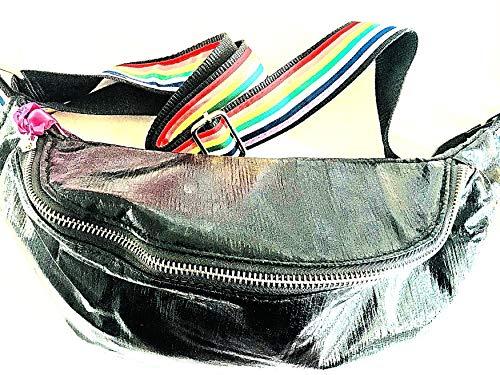 brasi&brasi Tasche Belt&Bag Glitter Rainbow Schwarz NEU!!NEU!!NEU!!