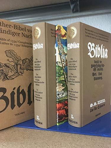 Vollständiger Nachdruck der Luther-Bibel von 1534: Biblia - das ist die gantze heilige Schrifft Deudsch. Mart. Luth. Wittemberg (2 Bände)