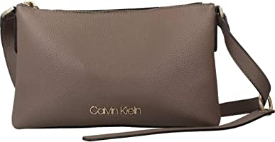Calvin Klein NEAT EW CROSSBODY ARMY FTGE (Green K60K604418002)