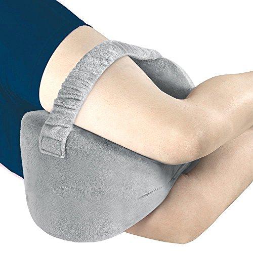 Angel Memory-Schaum Kniekissen Beinkissen mit Waschbarem Bezug, lindert Rückenschmerzen, Beinschmerzen Hüft- und Gelenkschmerzen für Seitenschläfer