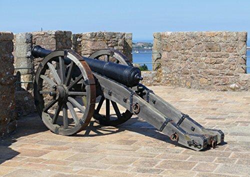 hansepuzzle 20505 Orte - Burg auf Jersey, 260 Teile in hochwertiger Kartonbox, Puzzle-Teile in wiederverschliessbarem Beutel