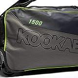 Kookaburra  2019 Pro 1500 Wheelie Bag, Grey, 700mmx330x280mm (LxWxH)