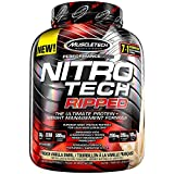 Muscletech Performance Series Nitro-Tech Ripped Supplement, 4 lbs, French Vanilla Swirl
