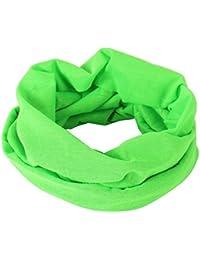 Grünes leichtes Schlauchtuch Multifunktionstuch Halstuch Multischal Schlauchschal