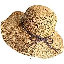 Amazon.es  sombrero paja niña - Moollyfox 80818a68d48