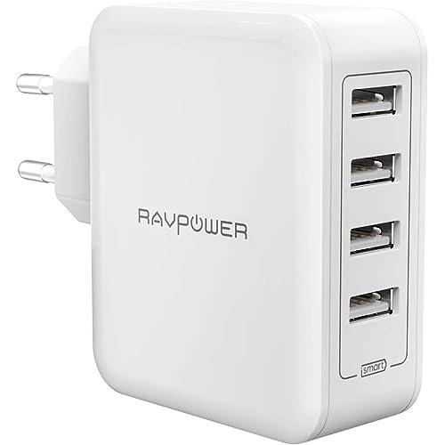RAVPower IT RP-PC026 Alimentatore USB, Bianco