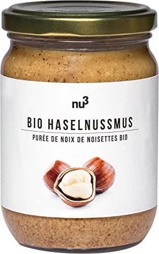 nu3 Purée de Noisettes Bio sans Gluten 250 g