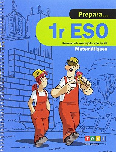 Prepara 1r ESO Matemàtiques (Quaderns estiu) - 9788441230439