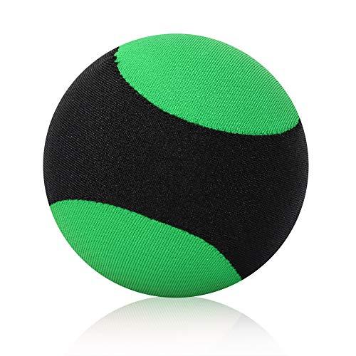 Dilwe Wasser springenden Ball, Freibad Strand springenden Sport Spiel Ball Spielzeug für Familienfreunde( Schwarz + Grün)