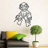 Stickers Muraux Ninja Turtles Tmnt American Comic Book Intérieur De La Maison Pour Enfants