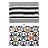 Saral Home Cotton Floor Rugs, Set Of 2 Pc