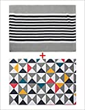 #10: Combo of Saral Home Cotton Floor Rugs Set of 2 pc