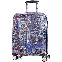 SKPAT - Travel Maletas Trolley 55/65 cm de Policarbonato o ABS Estampado. Rígidas