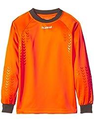 Hummel T-Shirt Classic Gk Jersey - Camiseta de portero de fútbol para hombre, color naranja, talla 116-128