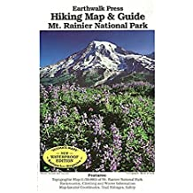 Earthwalk Press 115905 Mt. Rainer National Park Wandern Map and Guide Earthwalk Press
