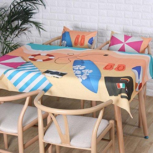 LIFEIFENG LF&F Tablecloth Tischdecke EuropäIsche QualitäT Weiche Leinen Tischdecken Restaurants Zu...