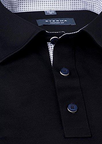 Eterna - Polo -  Homme Noir - Noir