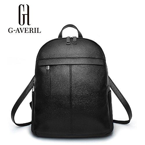 G-AVERIL GA1171-C, Borsa a zainetto donna blu navy Navy blue Black