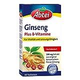 Abtei Ginseng Plus B-Vitamine Tabletten, 40 St.