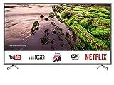 SHARP 4K Ultra HD Smart LED TV, 109 cm (43 Zoll), Harman/Kardon Soundsystem, 3 HDMI Anschlüsse, LC-43UI8652E, Schwarz
