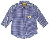 Steiff Baby - Jungen Regular Fit Hemd 1/1 Arm, Gr. 98 (Herstellergröße: 98) Blau (evening blue blue 3112)