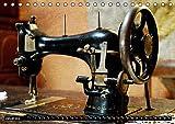 Omas Nähmaschinen (Tischkalender 2019 DIN A5 quer): Nostalgische Aufnahmen alter Nähmaschinen (Monatskalender, 14 Seiten ) (CALVENDO Hobbys)