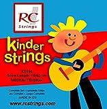Royal Classics KS580 Jeu de cordes nylon pour guitares classiques 3/4 58-62CM