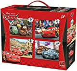 """KING 5100 4-In-1 """"Disney Cars 2"""" Puzzle"""
