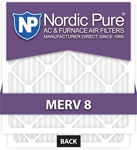 Ofen-filter 20x16x1 (Nordic Pure 10 x 16 x 1customm8–12 Merv 8 AC Ofen Filter, 12 Stück)