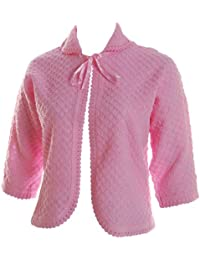 Lady Olga Superb KNITTED Night Bed Jackets - Colours + Sizes