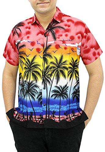 la-leela-likre-palme-lune-arbre-site-de-plage-ensoleille-chemise-hawaienne-classique-de-rouge