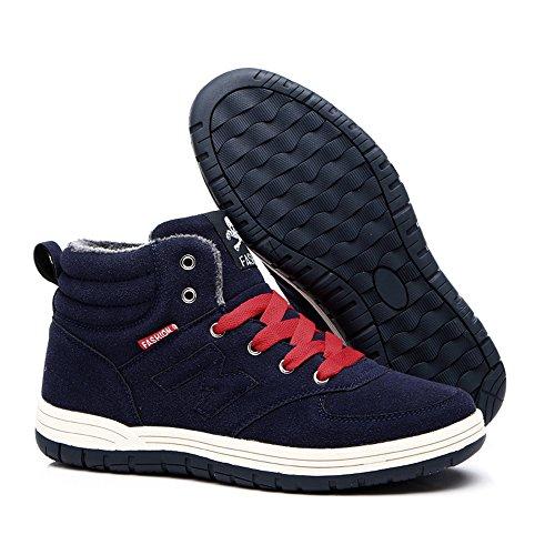 Do.BOMRVII  9988, Chaussures de skateboard pour homme Bleu - Bleu foncé