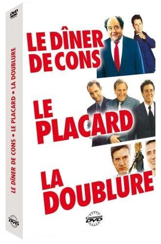 Coffret Francis Veber 3 DVD (La Doublure / Le Placard / Le dîner de cons) [FR Import]