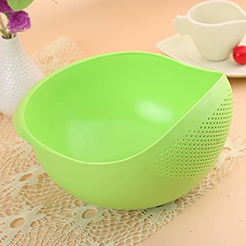 Xizi Kitchen Vegetables Basin Riz Lavage Tamis Cuisine Strainer Bowl Fruit Bowl Fruit Basket Green