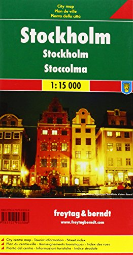 Freytag Berndt Stadtpläne, Stockholm - Maßstab 1:15 000: Alle Infos bei Amazon