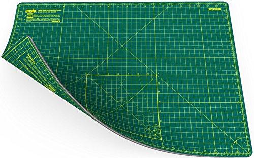 Ansio 93991 - Alfombrilla de corte para acolchar, color verde