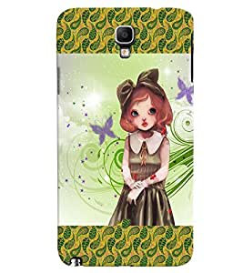Fuson 3D Printed Girly Designer back case cover for Samsung Galaxy Note 3 Neo N7505 - D4134