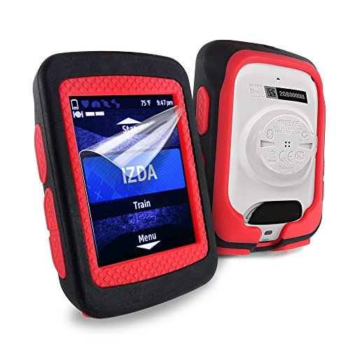 tuff-luv-silicone-twin-dual-layer-double-protective-skin-case-for-garmin-edge-520-black-red