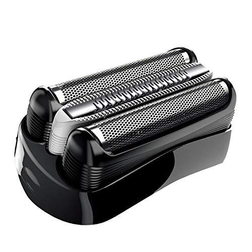 32B Cabezales de Afeitado Poweka para Braun Series 3 Cassette Afeitadora Eléctrica Hombre