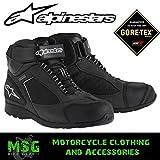 Alpinestars Zapatillas moto Sierra Gore-tex XCR Negro, 9,5