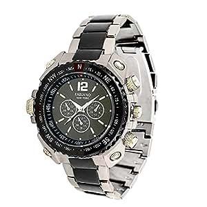 Fabiano New York Mens Analog Waterproof Watch (Grey)