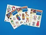 Ankleide-Puppen Set 1 (3 verschiedene Bogen)