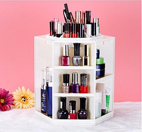 Addfun reg;360 Grad rotierend Kosmetikum Lagerung Box drehbar Organisieren Karussell Kosmetikum...