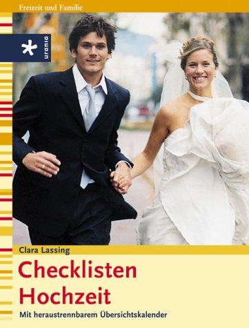 Checklisten Hochzeit: Mit heraustrennbarem Übersichtskalender